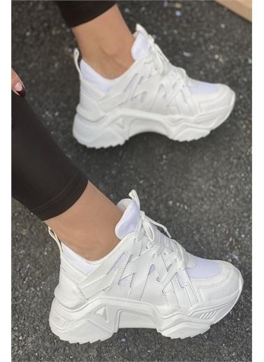 İnan Ayakkabı BAYAN SNEAKERS Beyaz